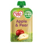 Cow & Gate Apple & Pear Fruit Puree Pouch