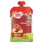 Cow & Gate Apple, Strawberry & Cherry Pouch 4 Months+