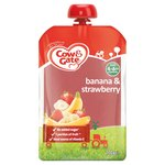 Cow & Gate Banana & Strawberry Pouch 4 Months+