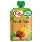 Cow & Gate Fruit Mix Pouch 4 Months+