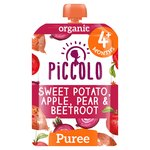 Piccolo Organic Sweet Potato, Beetroot, Pear & Apple 4 Months+