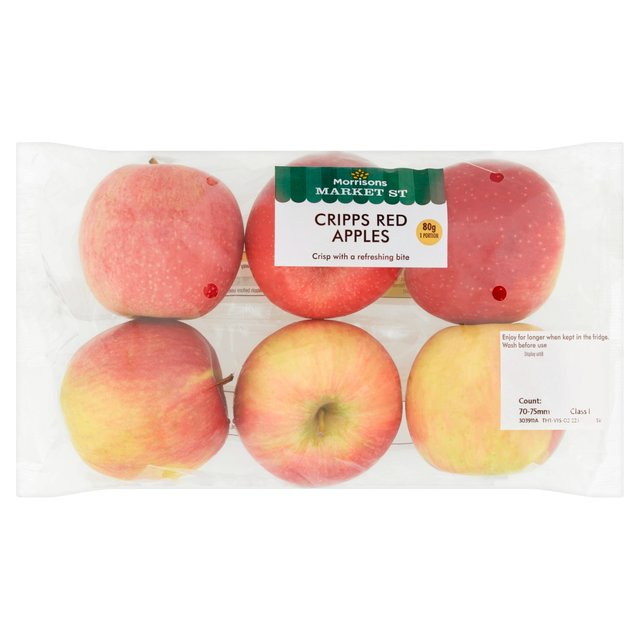 Morrisons Cripps Red Apples