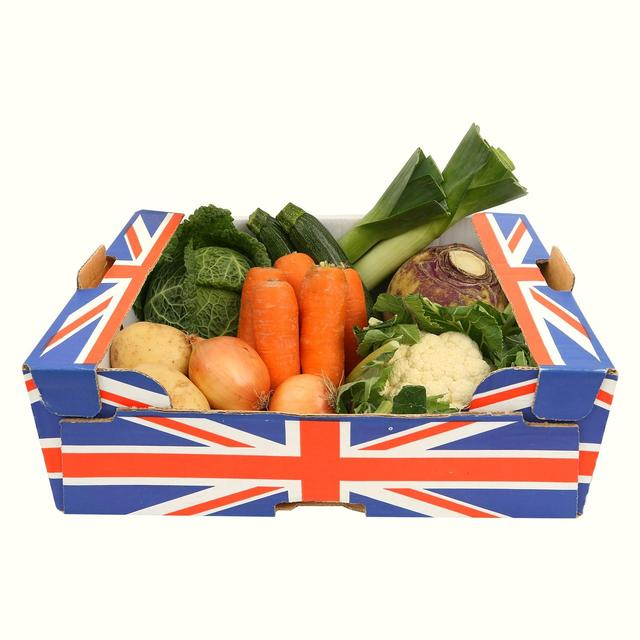 Morrisons Seasonal British Veg Box