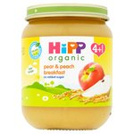 Hipp Organic Pear & Peach Breakfast 4+M
