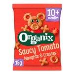 Organix Goodies Saucy Tomato Noughts & Crosses