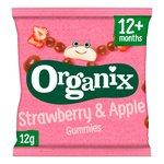 Organix Fruit Gummies Strawberry & Apple