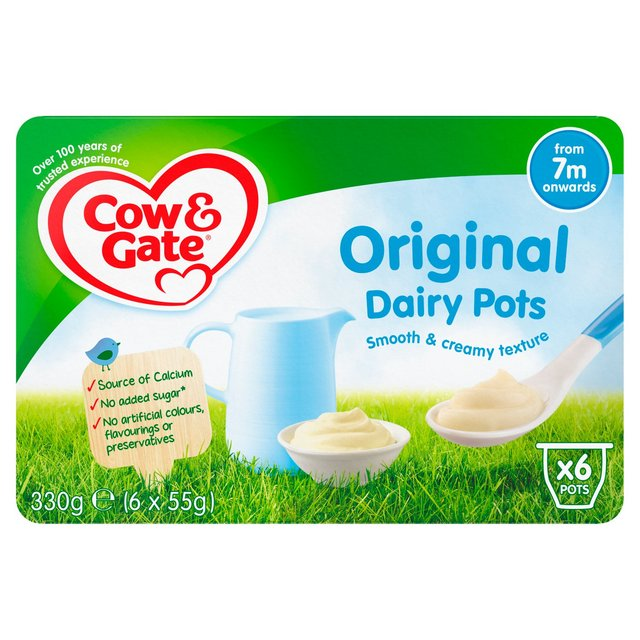 Cow & Gate Original Dairy Pots