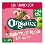 Organix Goodies  Raspberry & Apple Soft Oaty Bars 12M+