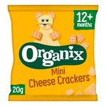 Organix Goodies Mini Cheese Crackers