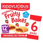 Kiddylicious Strawberry Bakes