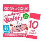 Kiddylicious Strawberry Wafers