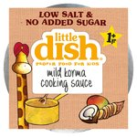 Little Dish 1 Yr + Mild Korma Cooking Sauce