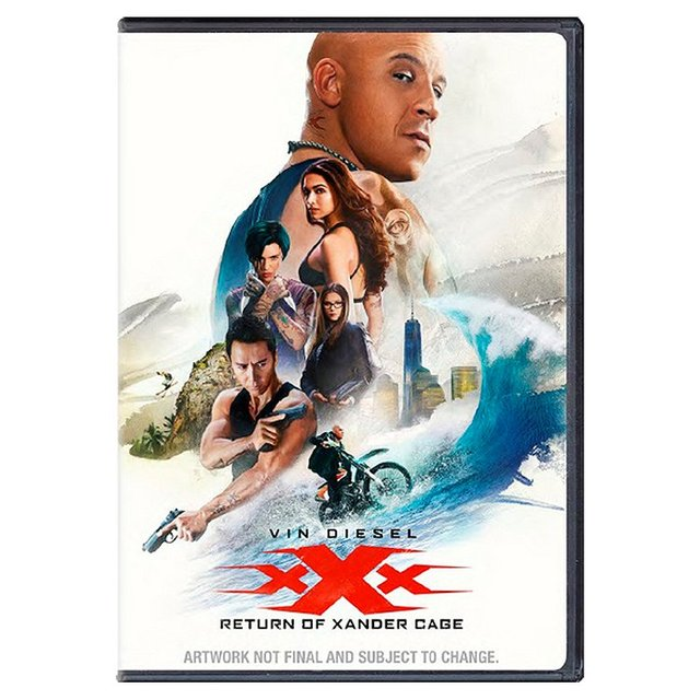 XXX Return of Xander Cage DVD (12)