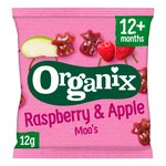 Organix Goodies Raspberry & Apple Moos