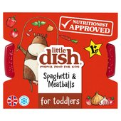 Little Dish Spaghetti & Meatballs Toddler Meal