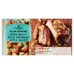 Morrisons Slow Cooked Pork Belly With Bramley Apple Sauce