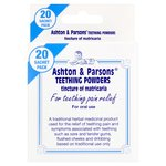 Ashton & Parstons Infants Powders For Teething Pain Relief
