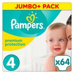 Pampers Premium Protection 4 Maxi Jumbo Pack