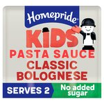 Homepride KIDS Classic Bolognese Pasta Sauce