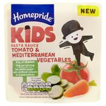 Homepride KIDS Tomato & Mediterranean Vegetables Pasta Sauce