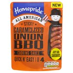 Homepride Caramilsed Onion Sticky BBQ Sauce