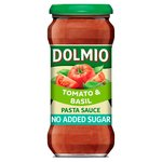 Dolmio Sun Ripened Tomato & Basil No Added Sugar Pasta Sauce