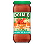 Dolmio Sun Ripened Tomato & Sweet Pepper No Added Sugar Pasta Sauce
