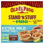Old El Paso Mini Stand N Stuff Extra Mild Super Tasty Soft Taco Kit