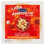 Santa Maria Corn & Wheat Soft Flour Tortilla 8Pk