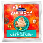 Santa Maria Whole Wheat Soft Flour Tortilla 8Pk