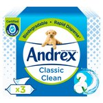 Andrex Classic Clean Washlets Three Pack