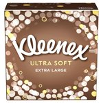 Kleenex Ultra Soft Tissues Single Compact Box Extra Large Sheets