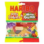 Haribo Jelly Babies & Wine Gums