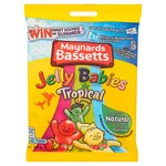 Maynards Bassetts Jelly Babies Tropical Sweets Bag
