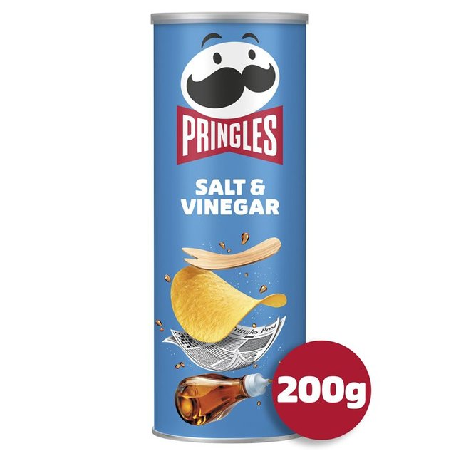 MORRISONS > Food Cupboard > Pringles Salt & Vinegar