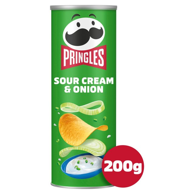 MORRISONS > Food Cupboard > Pringles Sour Cream & Onion