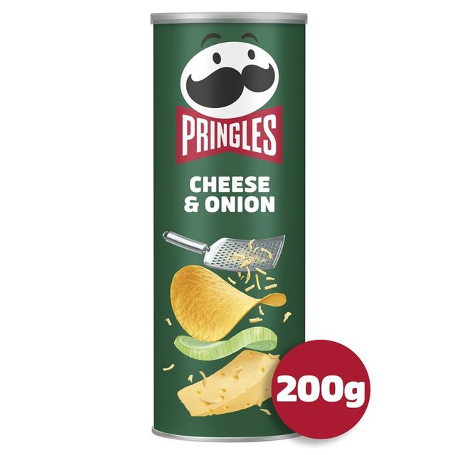 MORRISONS > Food Cupboard > Pringles Cheese & Onion