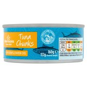 Morrisons Tuna Chunks In Sun Flower Oil (160g)