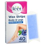 Veet Sensitive Skin Wax Strips