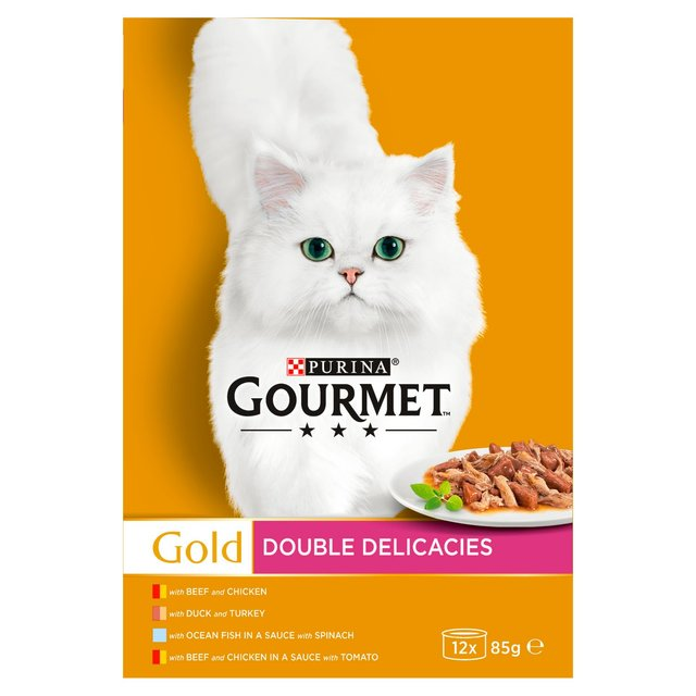 Gourmet Gold Adult Cat Double Delicacies