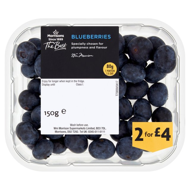 Morrisons The Best Blueberries