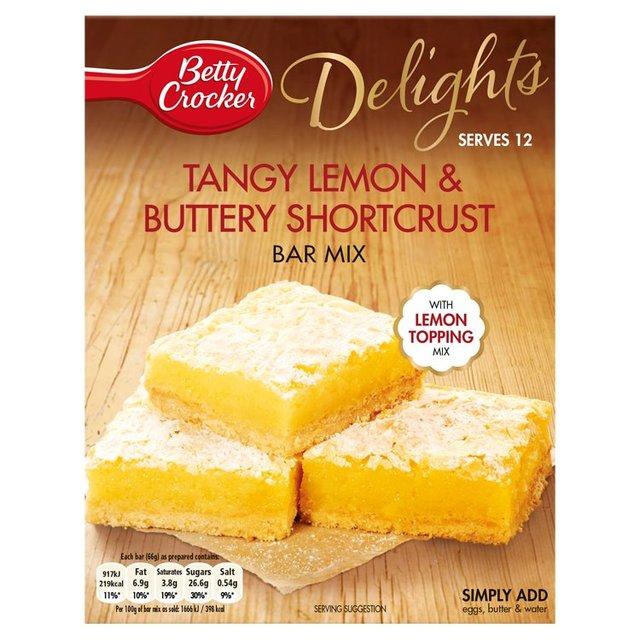 Morrisons Betty Crocker Delights Tangy Lemon Buttery Shortcrust