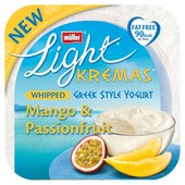 Muller Light Kremas Whipped Greek Style Yogurt Mango & Passion Fruit