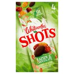 Whitworths Shots Raisin & Chocolate 4 PK