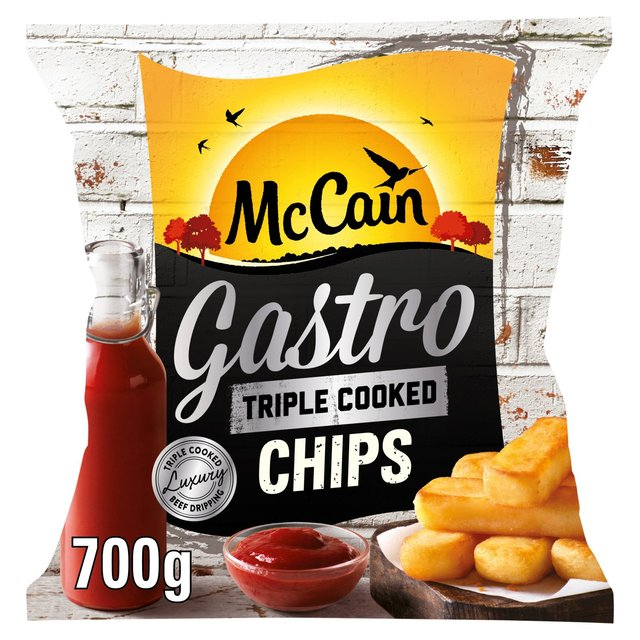 McCain Frozen Triple Cooked Gastro Chips
