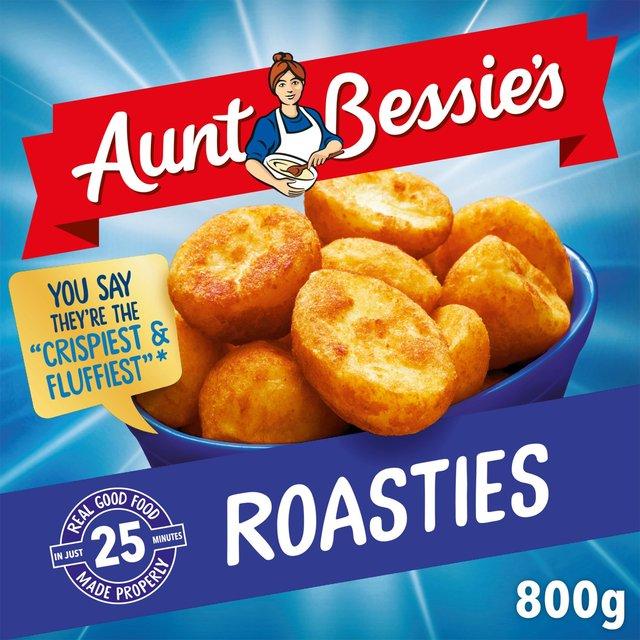 Aunt Bessie's Roasties