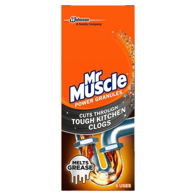 Mr Muscle Power Granules Drain Unblocker