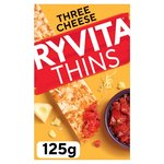 Ryvita Topped 3 Cheese Cracker Thins