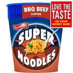 Batchelors Super Noodles BBQ Beef Pot
