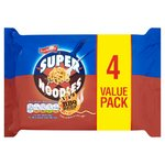 Batchelors Super Noodles BBQ Beef 4 Value Pack